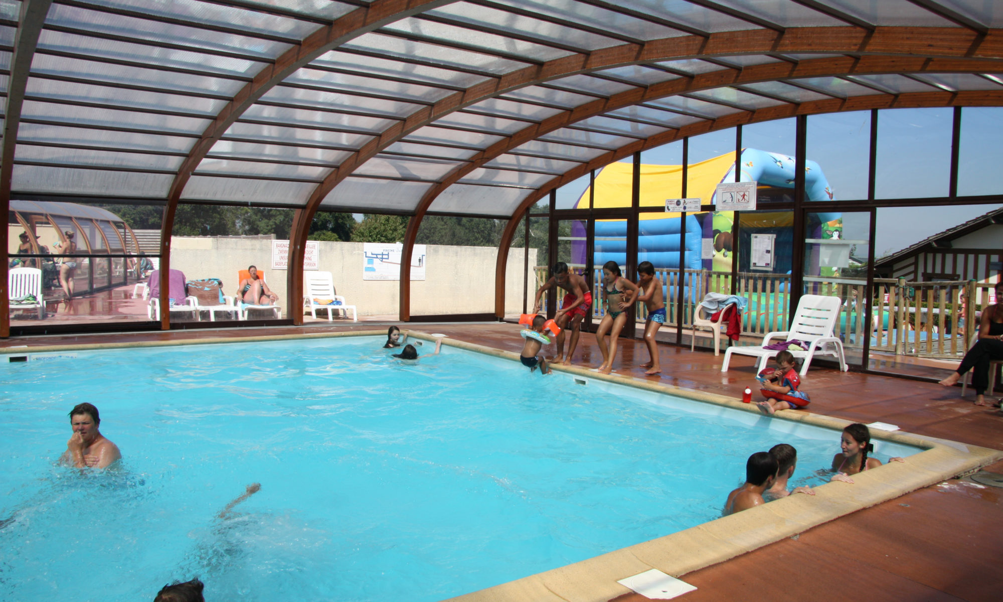 Attractive Our Indoor Heated Swimming Pool Offers: